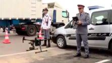 Les drones surveillent les marocains qui se rassemblent dans leurs terrasses