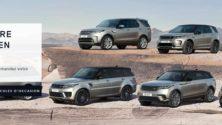 Jaguar Land Rover lance une plateforme de réservation de voitures en ligne