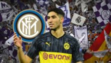 Achraf Hakimi quitte Dortmund pour rejoindre l'Inter