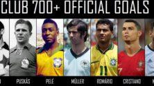 Lionel Messi rejoint le club des 7 joueurs ayant marqué plus de 700 buts