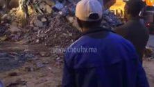 Vidéo : Ce marocain a perdu 50.000 dirhams après l'effondrement d'un immeuble à Sbata