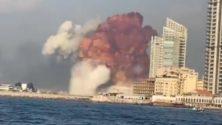 Vidéos : Deux fortes explosions secouent Beyrouth