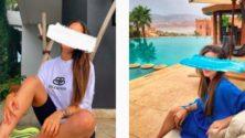 Hiba Rhalloussi, cette instagrammeuse marocaine qui poste des photos à visage masqué