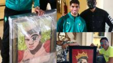 Omar Arojor, cet artiste peintre marocain «incognito» au visage masqué