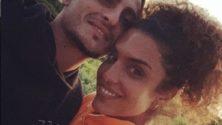 Le joueur du PSG Marco Verrati demande la main de Jessica Aidi à Marrakech