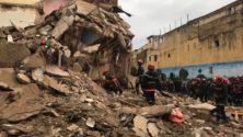 Effondrement d'une maison à cause des intempéries à Casablanca (Photos)