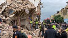 Effondrement à Hay Mohammadi : Un mort, et une famille sous les décombres