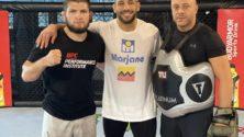 Abu Bakr Azaitar prêt pour le match UFC qui va l'opposer à Marc-André Barriault
