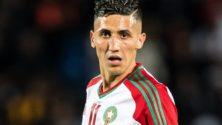 Photo : Fayçal Fajr adresse un message aux Lions de l'Atlas avant le match face à la Mauritanie