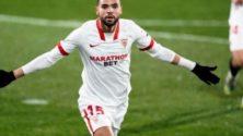L'international marocain Youssef En-Nesyri en lice pour le titre du joueur du mois en Liga