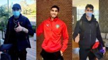 Photos et Vidéo : L'arrivée des Lions de l'Atlas au stage de préparation au Complexe Mohammed VI de football