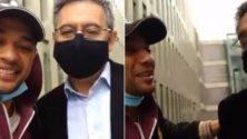 Vidéo : Un Marocain s'est retrouvé dans la même cellule de prison que l'ancien président du FC Barcelone