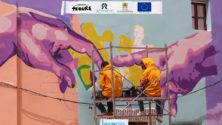 Photos : La médina d'Oujda se pare de belles couleurs et d'oeuvres de street-art géantes