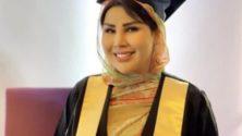 Non, la chanteuse Saida Charaf n'a pas reçu un diplôme en journalisme
