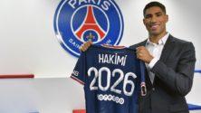 Vidéo : Achraf Hakimi fait ses premiers pas sous le maillot du PSG