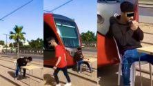 L'homme qui a bloqué le trafic de tramway écope de trois ans de prison ferme