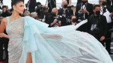 Photos : La présentatrice marocaine Abla Sofy enflamme le tapis rouge du festival de Cannes