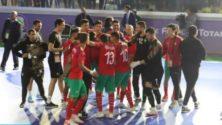 Coupe du monde de Futsal : Le Maroc se qualifie pour les quarts de finale