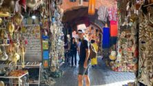 Enzo Zidane en vacances à Marrakech